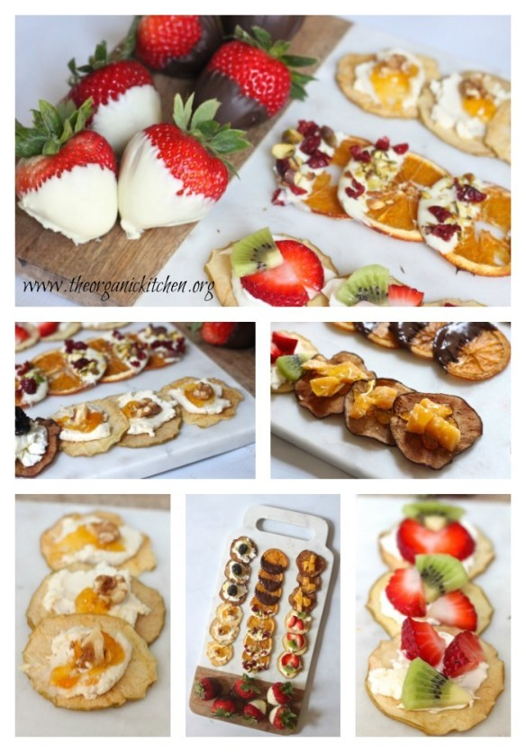Fruit, Cheese and Chocolate Platter