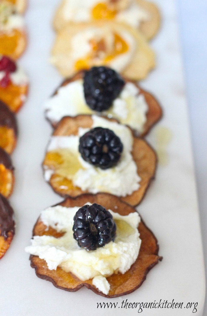 Fruit, Chocolate and Cheese Dessert Platter