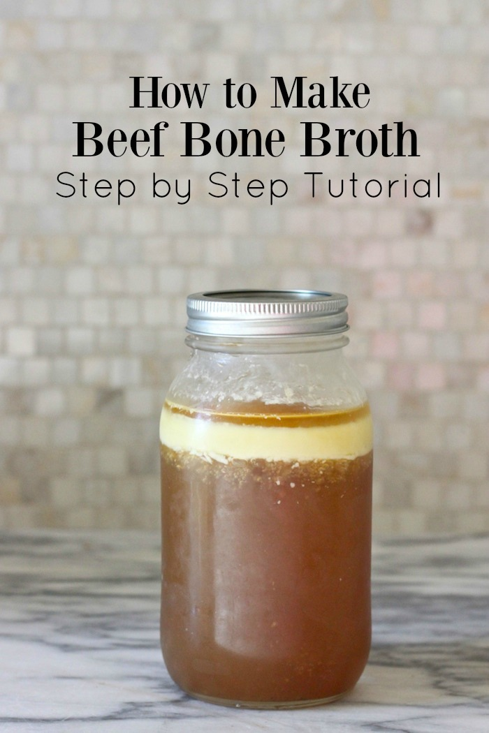 Bone Broth is one of the most nutrient rich and powerful superfoods there is! Learn how to make your own in a slow cooker with this step by step tutorial.