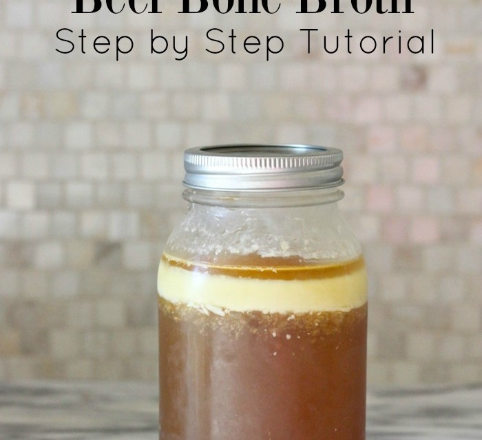 How to Make Beef Broth: Step By Step Tutorial