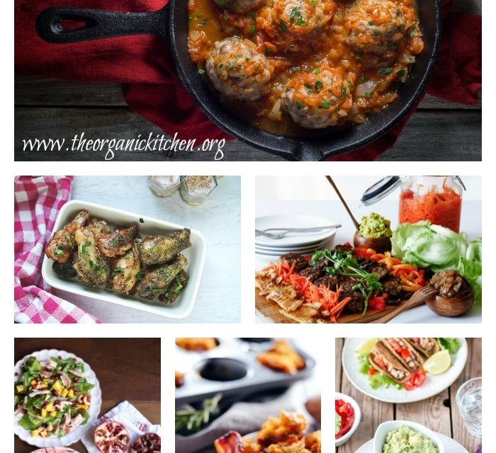 Paleo/Whole 30 Game Day Recipes!
