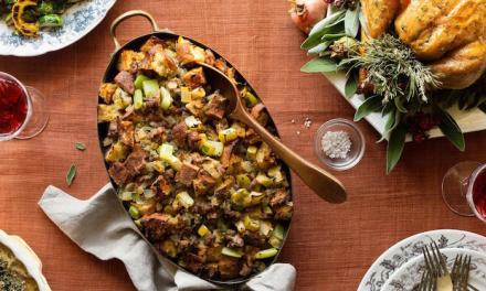 Italian Sausage and Apple Stuffing!