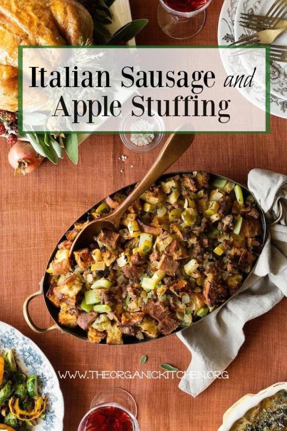 Italian Sausage and Apple Stuffing!