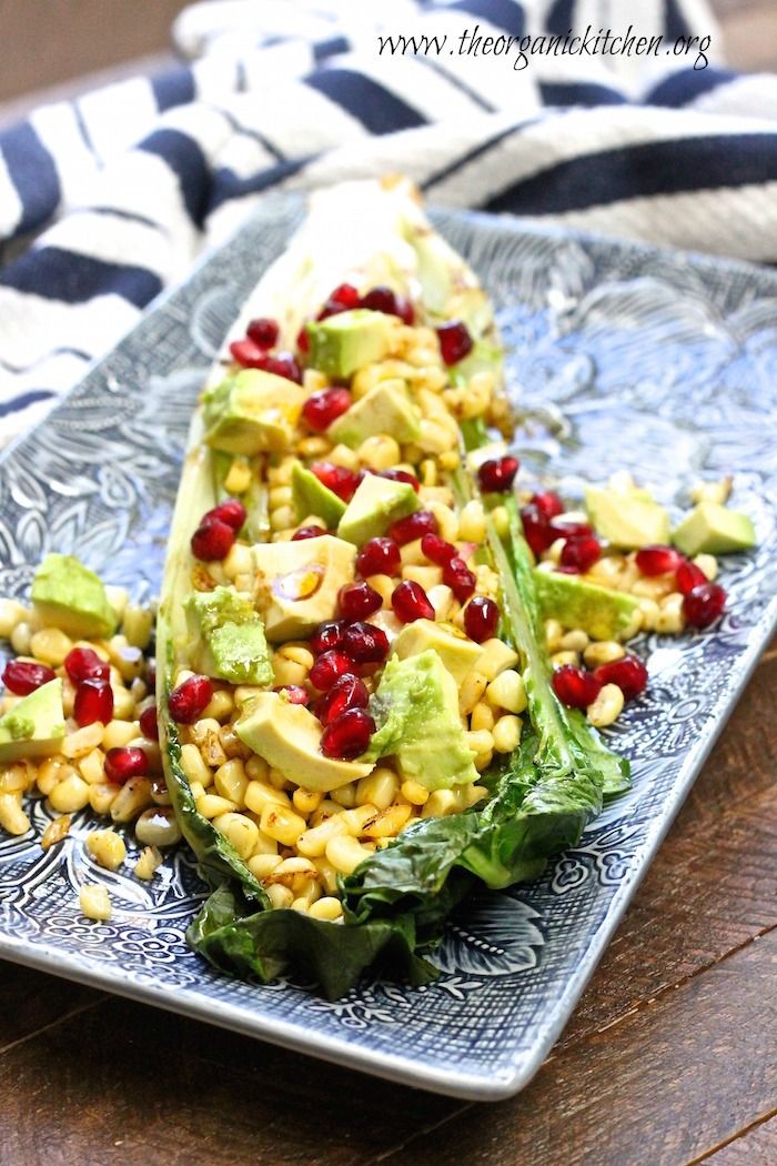 Grilled Romaine with Balsamic Vinaigrette