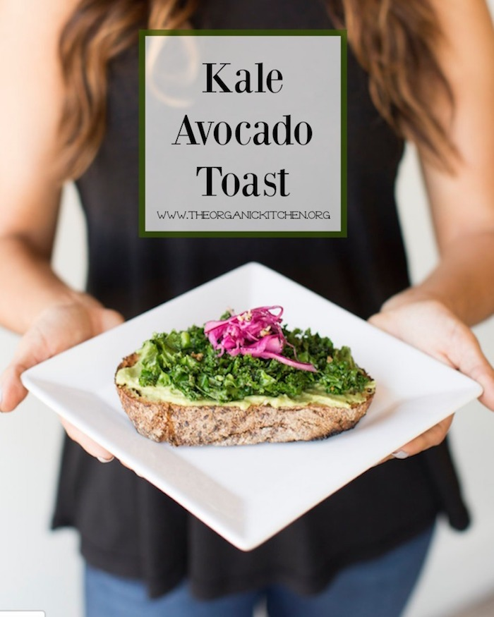 Kale Avocado Toast