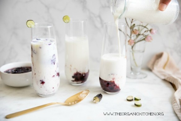 Banana~Blueberry Kefir Smoothie