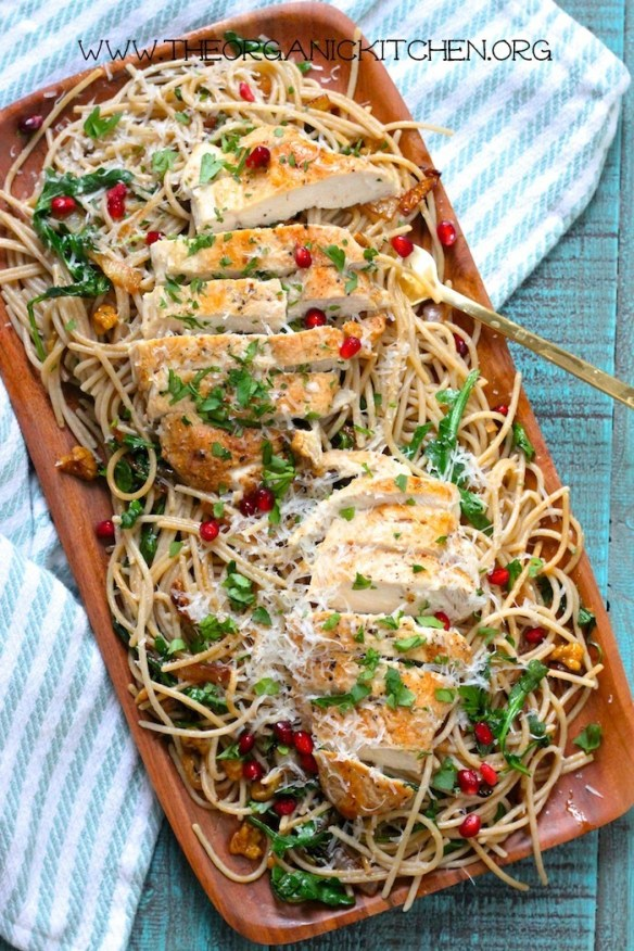 Pasta with Chicken, Caramelized Onions and Balsamic!