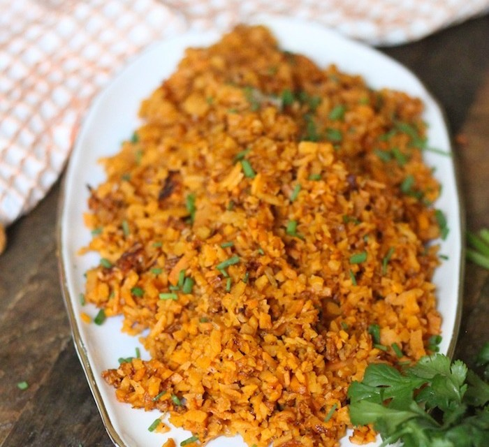 How to make Sweet Potato Rice! Paleo-Whole 30