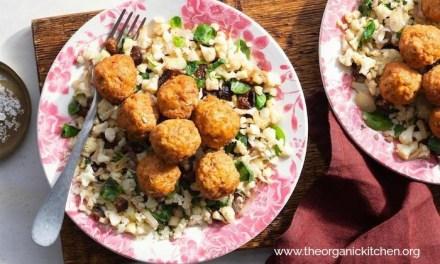 "Hungarian Meatballs with Cauliflower ""Rice""~ Paleo, Whole30, Keto"