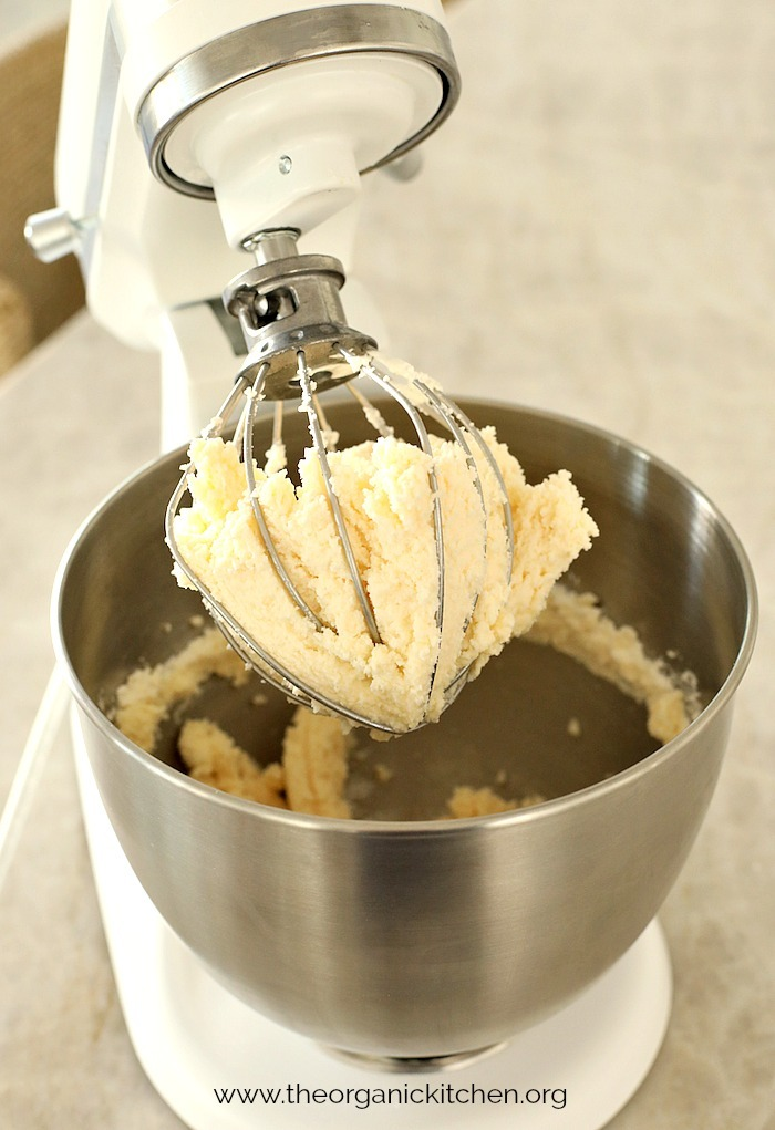 How to Make Raw or Pasteurized Butter: A KitchenAid mixed with freshly churned butter