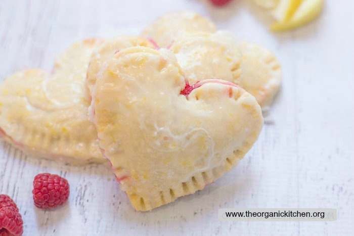 Raspberry-Lemon Hand Pies (with gluten free option)