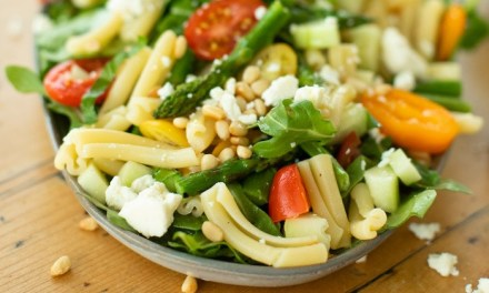 Pasta Salad with Greens and Asparagus