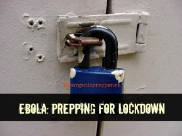 Getting ready for lockdown in the event of an Ebola pandemic