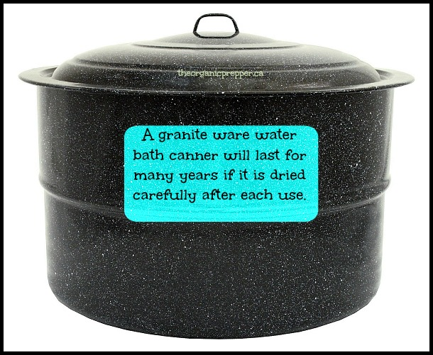 Granite ware water bath canner