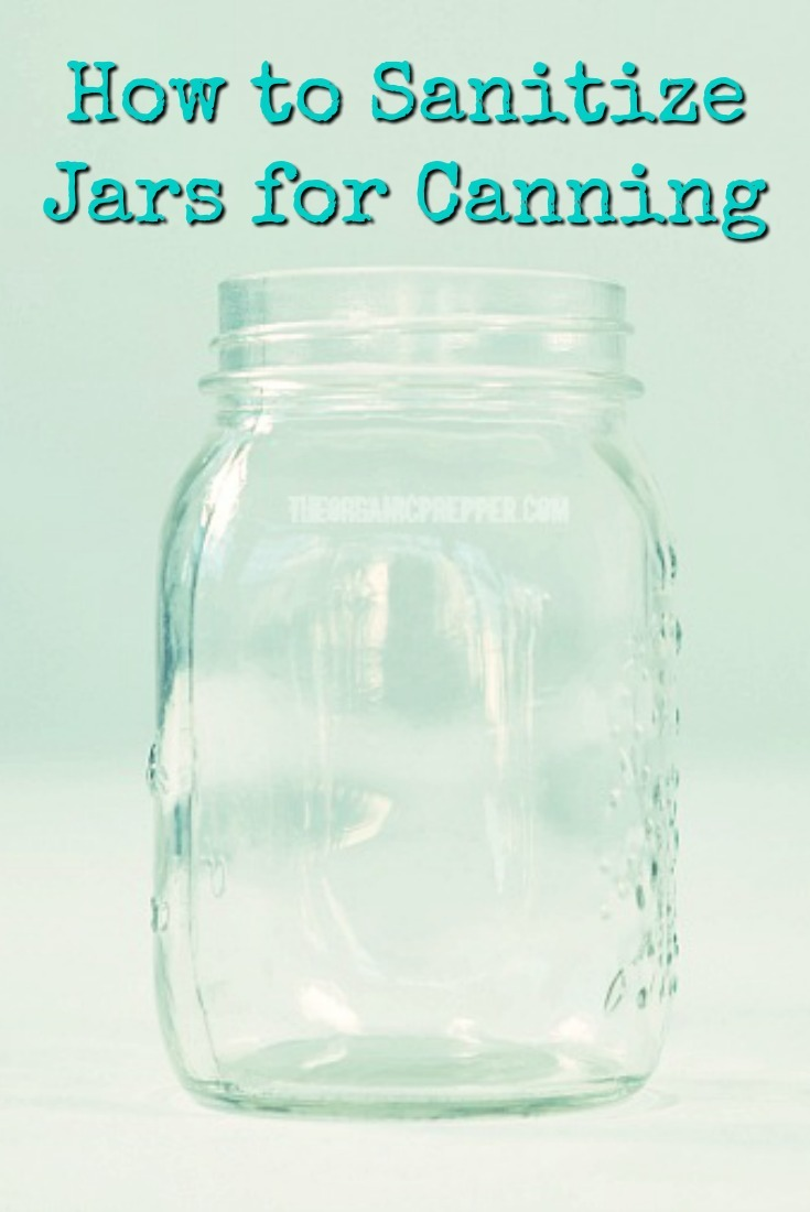 How to sterilise glass jars in the oven