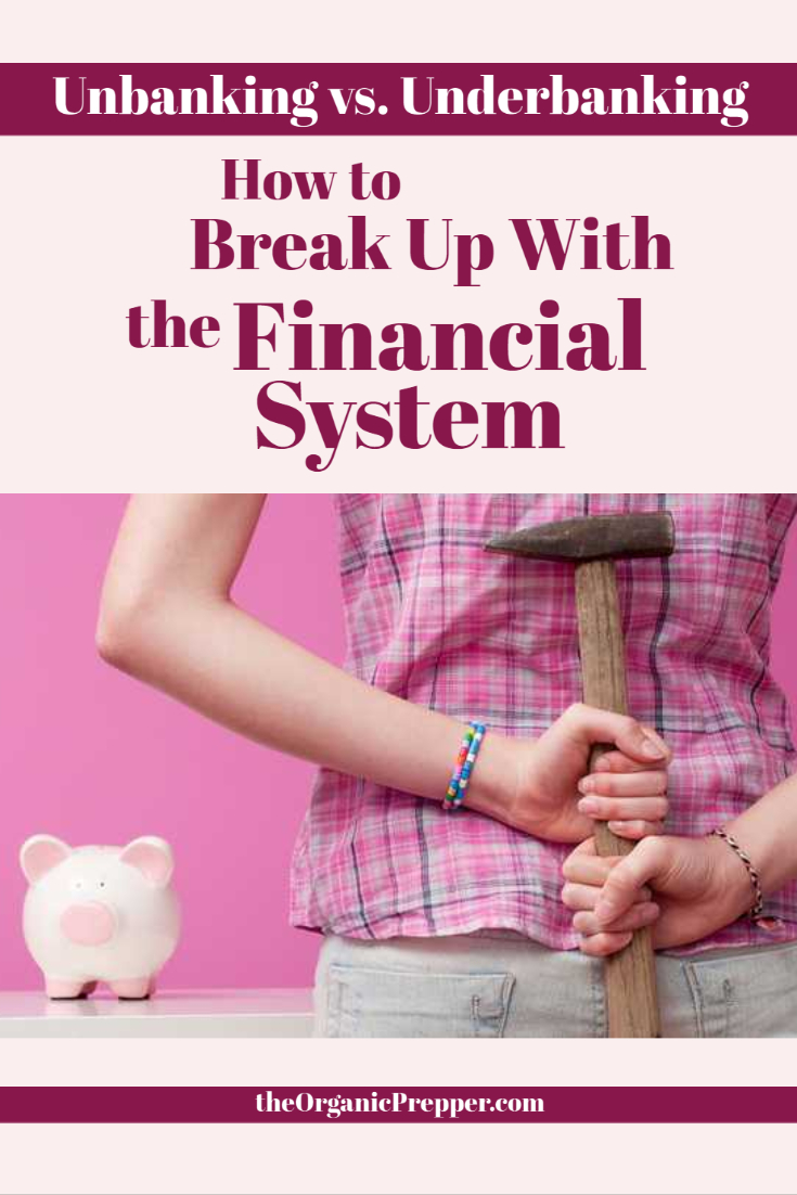 Unbanking vs. Underbanking: How to Break up With the Financial System