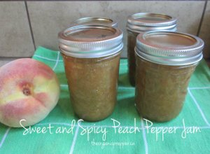 peach pepper jam