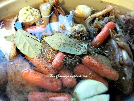 turkey carcass cooking