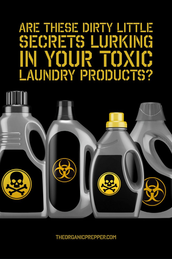 Are These Dirty Little Secrets Lurking in Your Toxic Laundry Products?