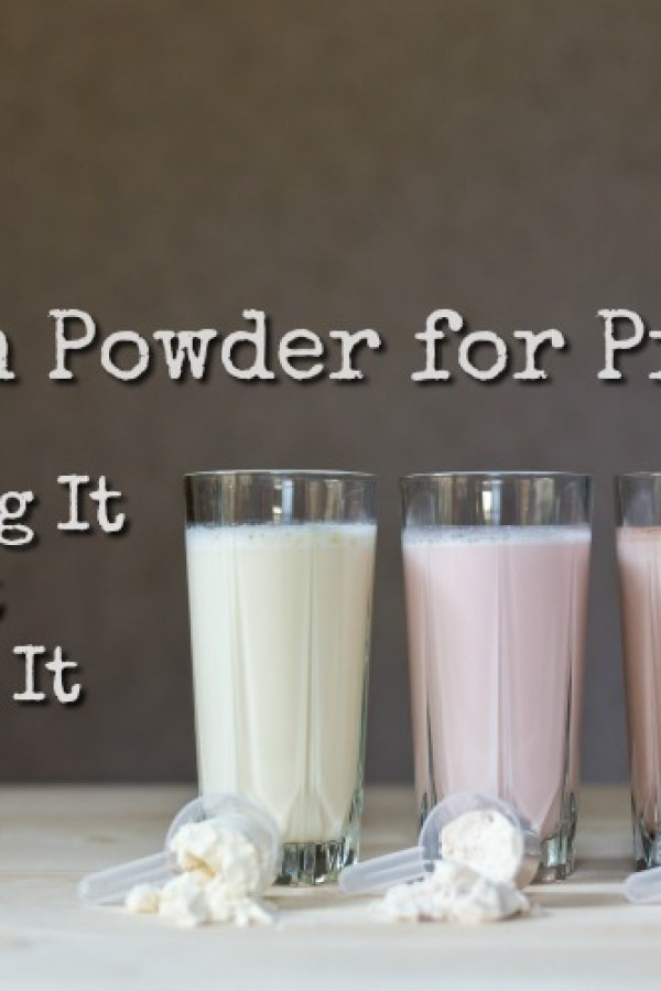 Protein powder isn't just for bodybuilders. It can be a great addition to your prepper stockpile (or even to your diet right now!) Here is all you need to know about having protein powder in your preps!