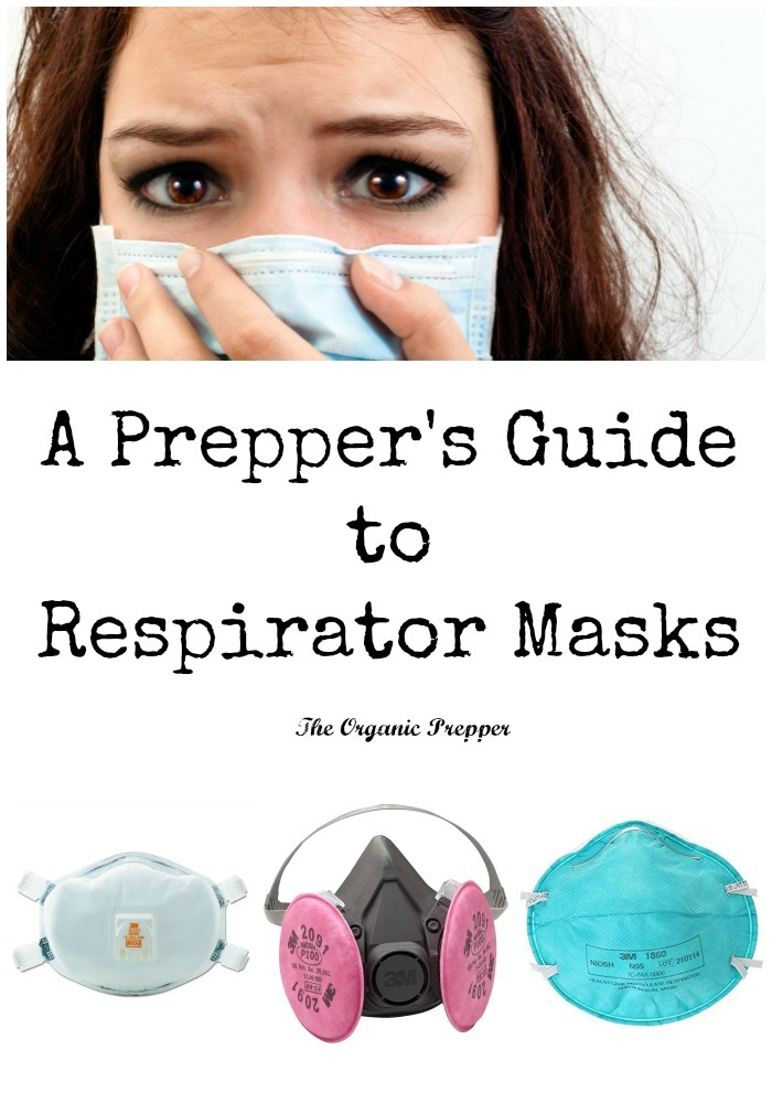 A respirator mask is a prep that is potentially life-saving, doesn\'t cost a lot of money, and is often overlooked in the prepper world. | The Organic Prepper