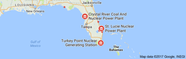 Nuclear Power Plants In Florida Map Could Irma Turn Florida's Nuclear Plants into an American