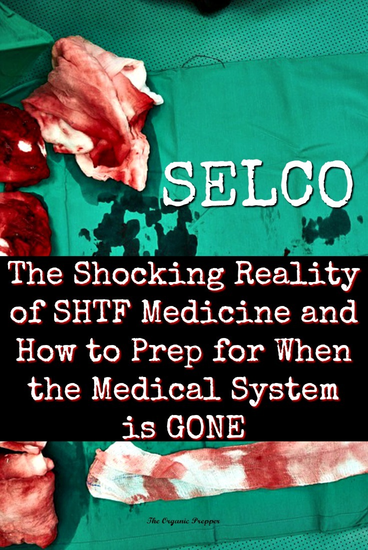 Selco shares the harsh reality of what it's like when the medical system is gone and what we must know to prepare ourselves for SHTF medicine.