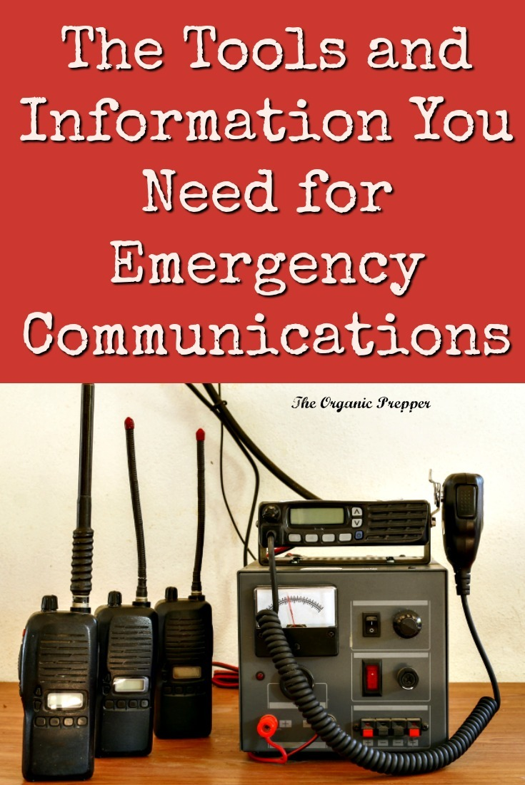 Here's a guide to the tools and information should be gathered for emergency communications means. | The Organic Prepper