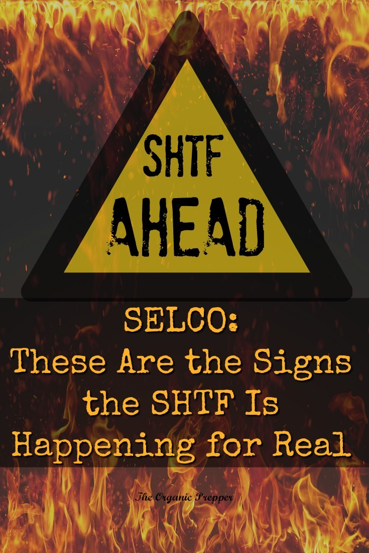 How do you know when it\'s time to hunker down or bug out for the long-term? Selco shares the signs that should warn you that the SHTF is near. | The Organic Prepper