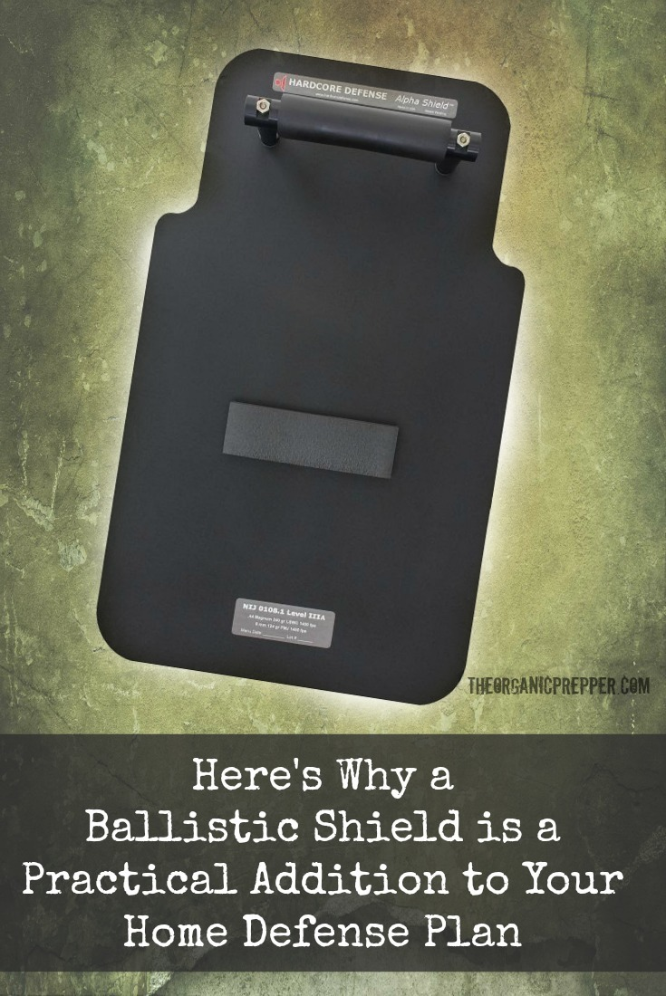 A ballistic shield is a surprisingly useful part of a home defense plan and it isn\'t just for those crazy doomsday extremist guys who are planning for war. Here\'s why you might want one, too. | The Organic Prepper