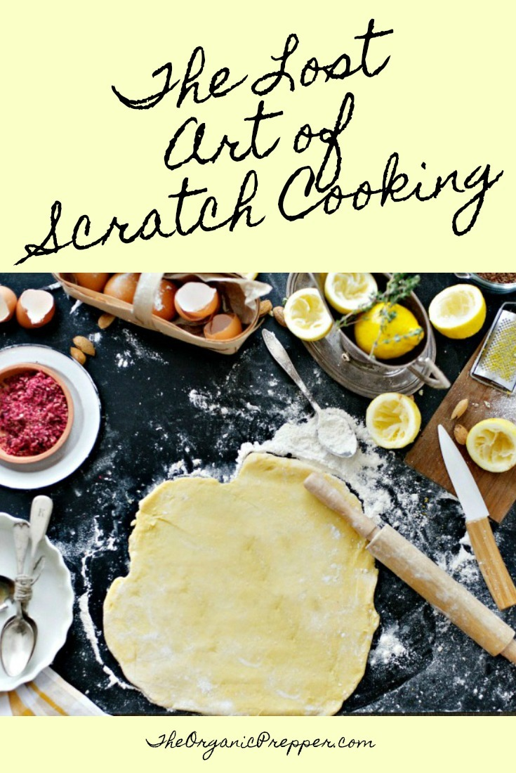 Scratch cooking is a lost art but it doesn't have to be. If you can read, know how to set a timer, and possess the ability to use a measuring cup, you can cook!