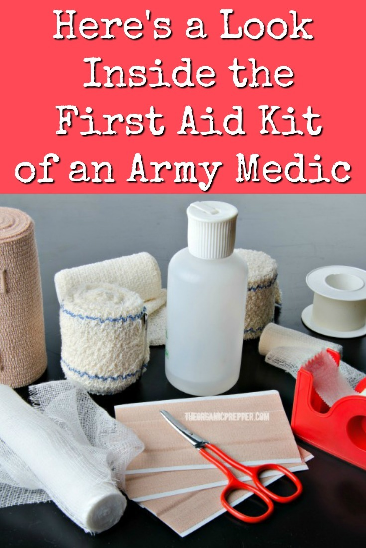 An old Army medic gives us a glimpse inside his first aid kit. Here are some links and checklists to create your own high-quality prepper's medical bag. | The Organic Prepper