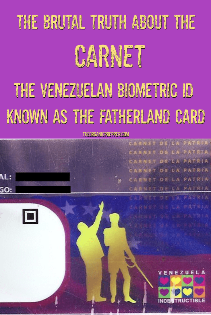 The Brutal Truth About the CARNET: The Venezuelan Biometric ID Also Known as the Fatherland Card
