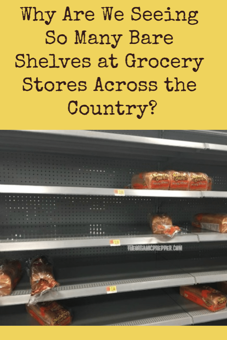 Have you noticed empty shelves at your local stores even when isn\'t a storm on the horizon? If so, you\'re not alone. Here\'s what you need to know.