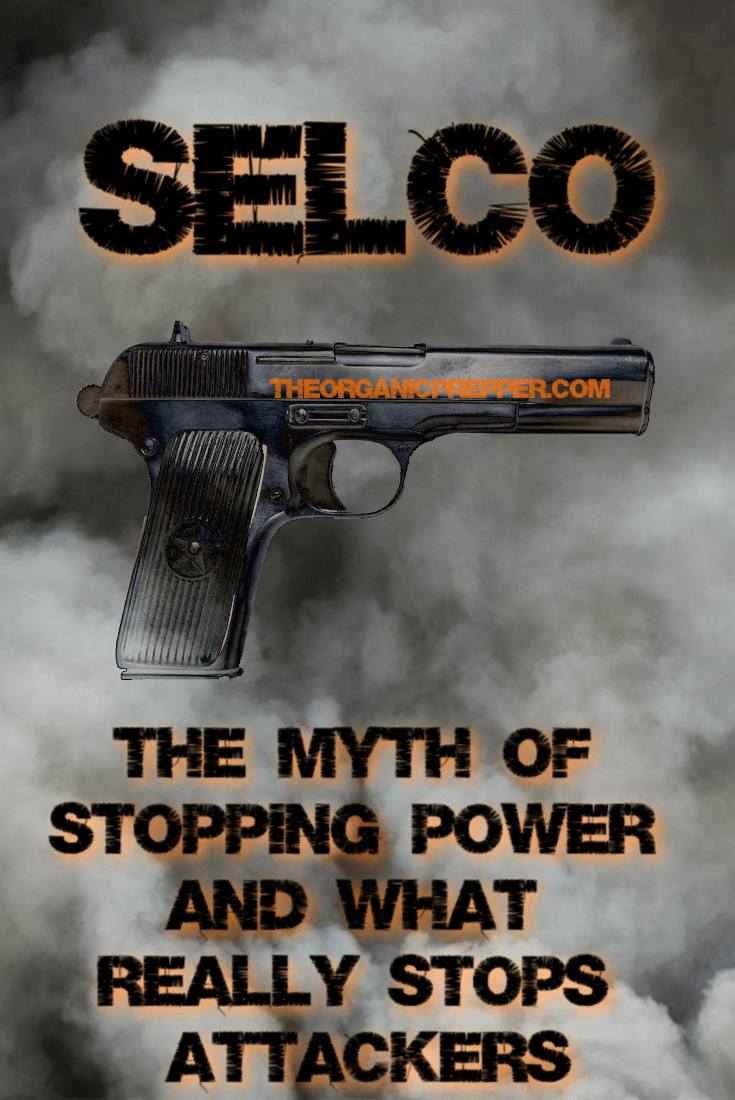 In this article, Selco debunks the myth of stopping power and the debates about which is the best caliber. He shares what REALLY stops an attacker. | The Organic Prepper