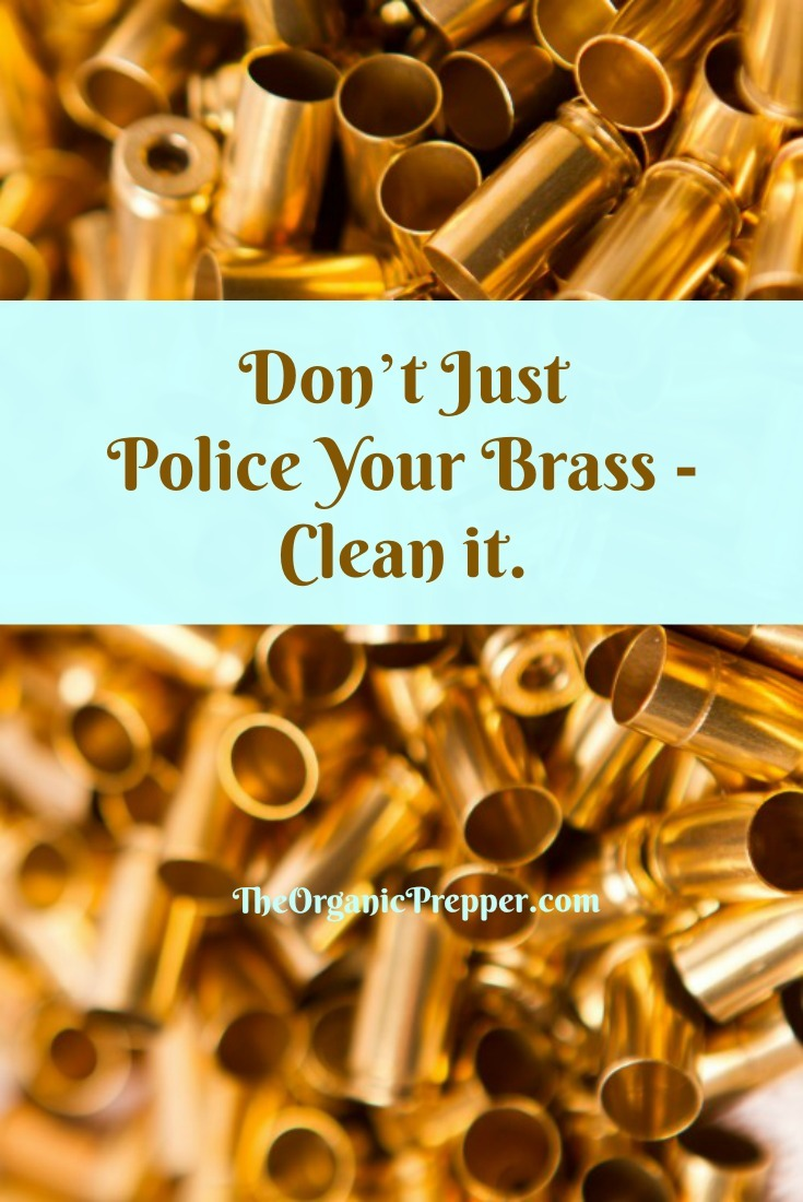 Don't Just Police Your Brass – Clean it: The Antimicrobial Properties of Brass