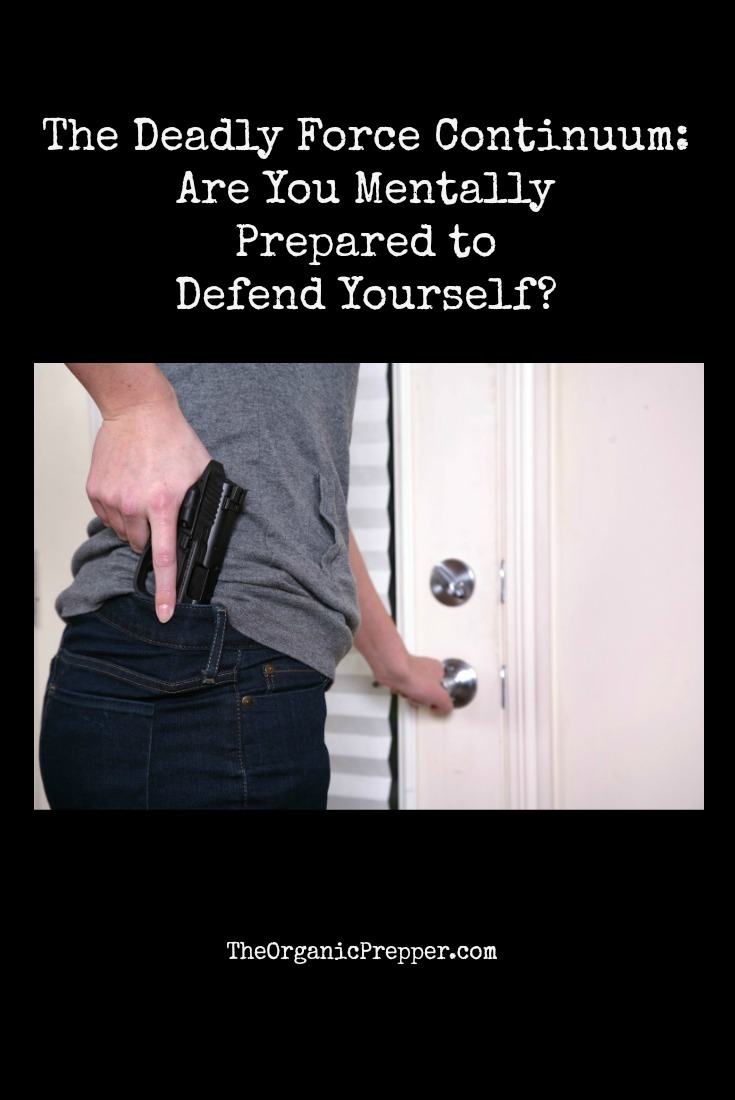 The Deadly Force Continuum: Are You Mentally Prepared to Defend Yourself?