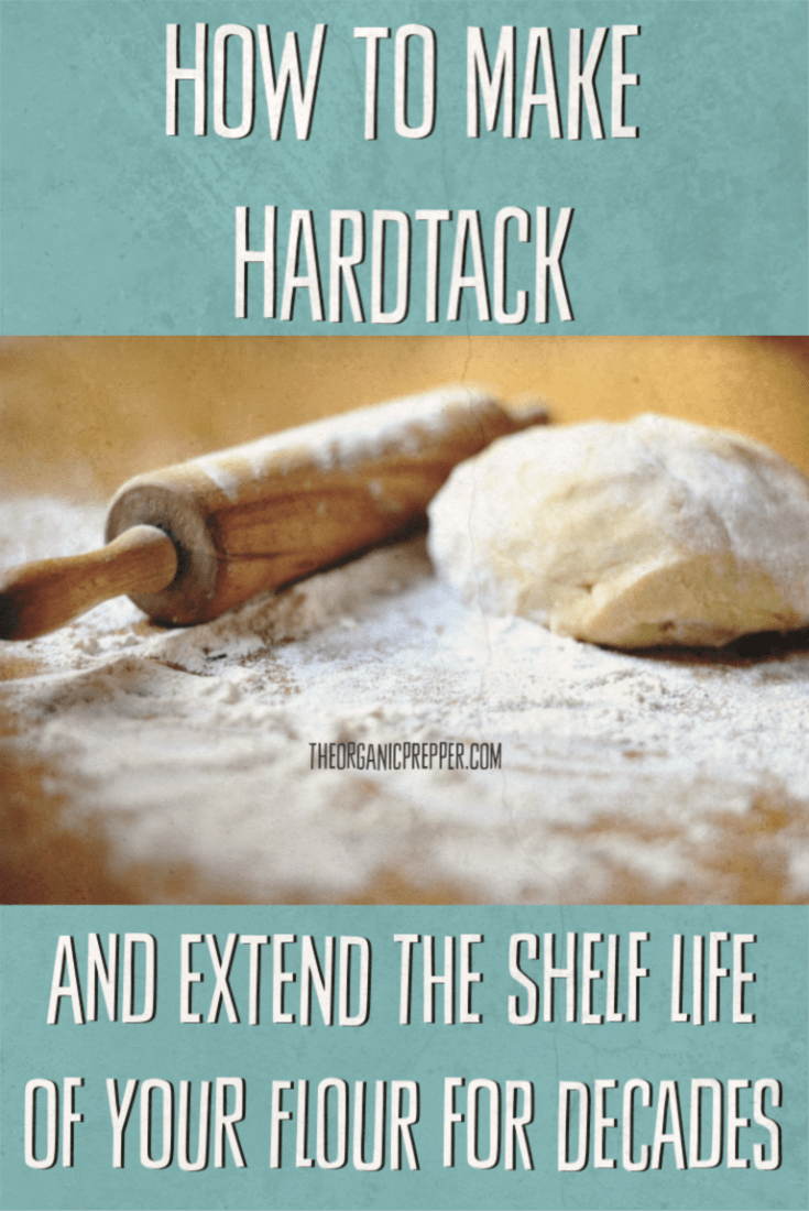 Learn how to make hardtack! You can convert flour into this easy-to-make survival food that has an almost unlimited shelf life if stored in a dry, pest-free environment. | The Organic Prepper