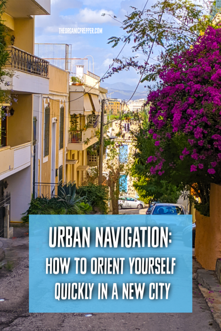 Urban Navigation: How to Orient Yourself Quickly in a New City