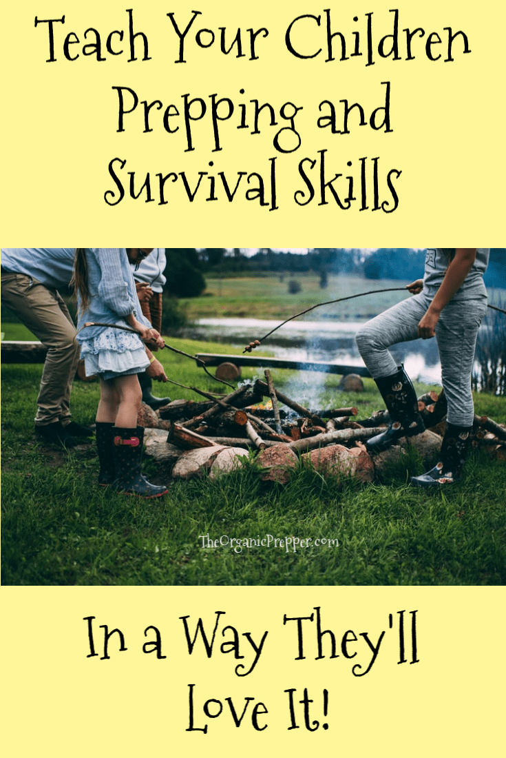 Children aren\'t just small adults. They learn differently. Here\'s how to teach your kids prepping and survival skills in a way that they\'ll love it. | The Organic Prepper