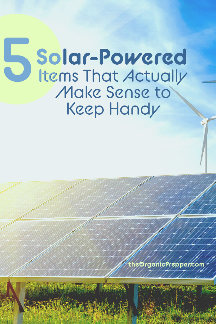 5 Solar-Powered Items That Actually Make Sense To Keep Handy