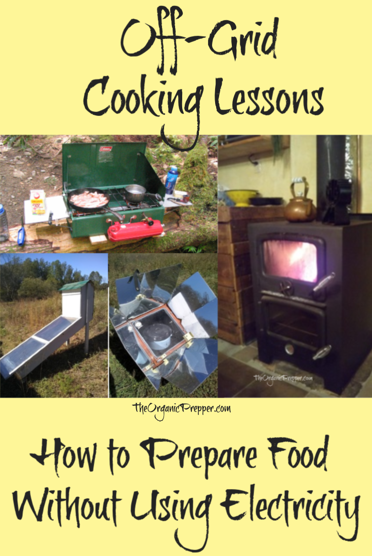 If you\'re cooking off-grid, different seasons call for different solutions. Here\'s how one homesteader cooks year-round without electricity. | TheOrganicPrepper.com