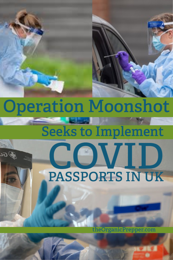 Operation Moonshot: UK Says Weekly COVID Tests Could Offer