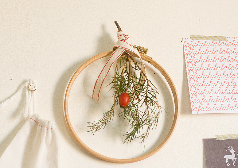 DIY A Simple Mini Wreath