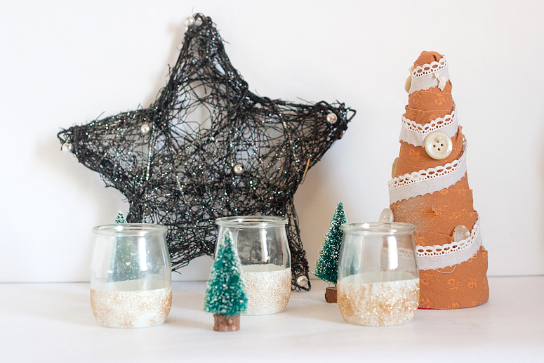 Tuesday To-Do | Frosty & Glittery Votives