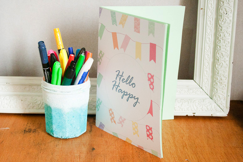 Hello Happy Notebook Freebie & Tutorial