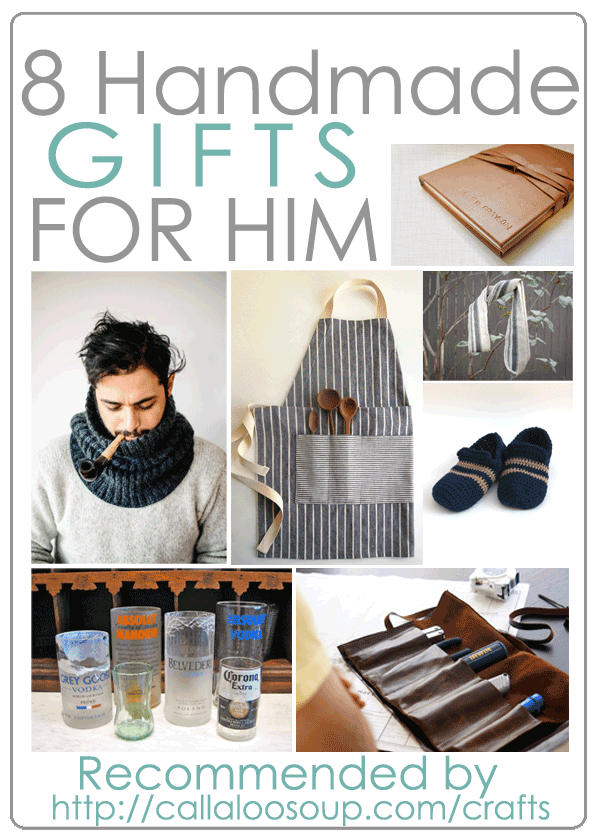 DIY Handmade Gifts for Him