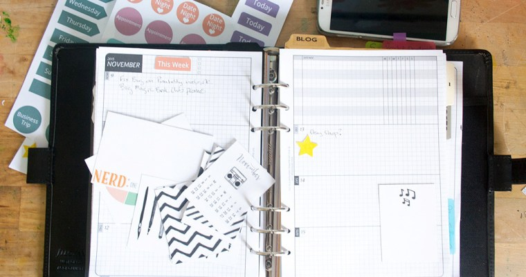 Tuesday Tip | Re-sizing Journal Cards for Planners