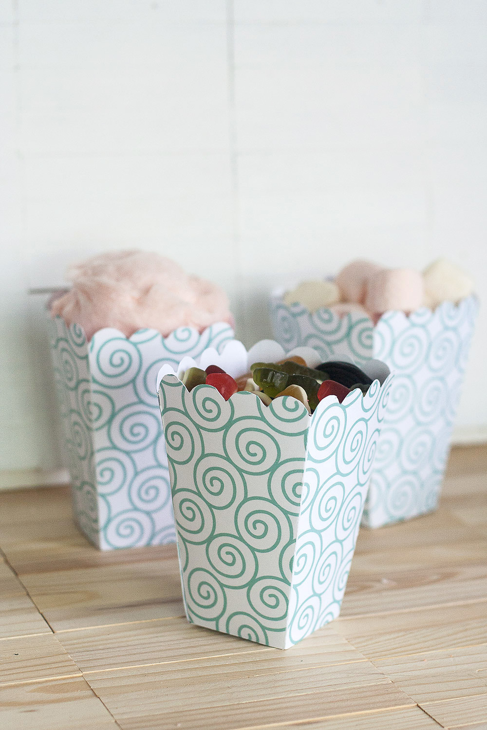 Freebie Friday | Printable Popcorn & Candy Boxes