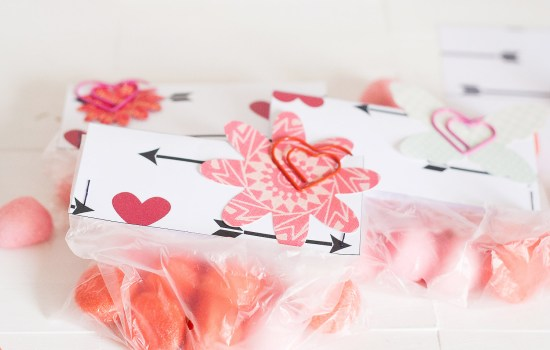 Freebie Friday | Printable Valentine's Day Treat Toppers